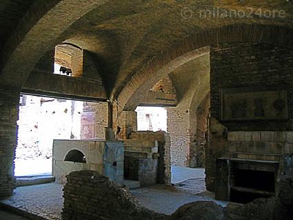 Rom essen im alten Essen Trinken